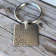 Best. Dad. Ever Keychain