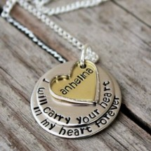Heart in my Heart Necklace