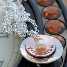 Treasured Cupped Necklace