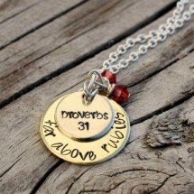Proverbs 31  Necklace