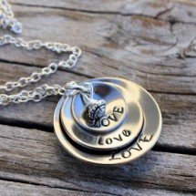Love Cupped Necklace