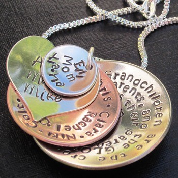 Cupped Scripture Necklace