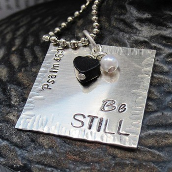 Be Still Necklace