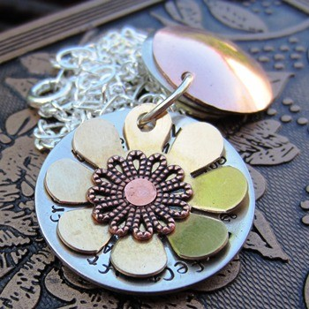 Flower Layered Necklace