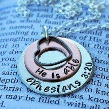 He Is Able Ephesians 3:20