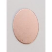 Copper Oval Tag
