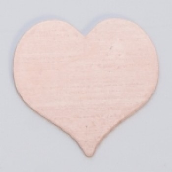 "7/8"" Copper Heart"