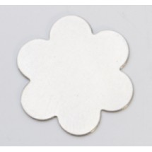"7/8"" Nickel Silver flower"