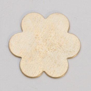 "7/8"" Brass 6 petal flower"